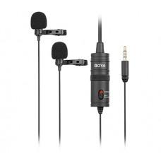 BOYA BY-M1DM Omni-Directional Lavalier Microphone
