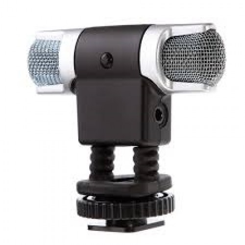 Boya BY-MM3 Mini Condenser Stereo Shotgun Microphone