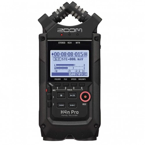Zoom H4n Pro 4-Track Portable Audio Recorder