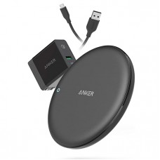 Anker PowerWave 7.5W Fast Wireless Charging Pad & QC3.0 Charger (B2514)