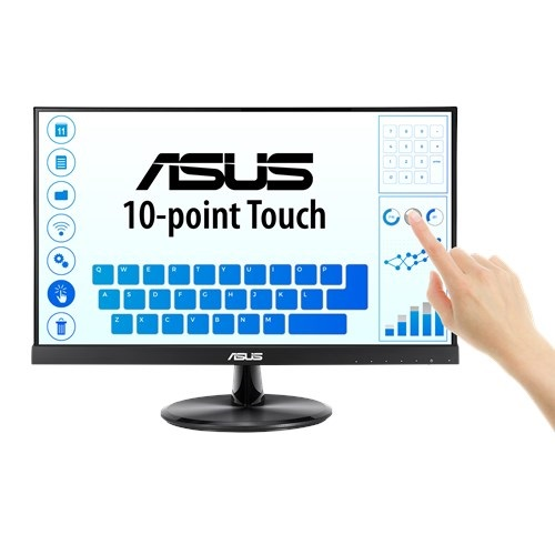 "ASUS VT229H 21.5"" Full HD 5ms Low Blue Light Flicker Free Touch Monitor"