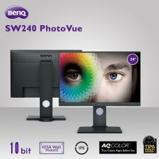 BenQ SW240 PhotoVue 24 inch WUXGA Color Accuracy IPS Monitor for Photography