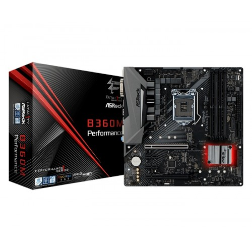 Asrock Fatal1ty B360M Performance 8th Gen Motherboard