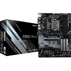 ASRock Z390 Pro4 8th and 9th Gen Motherboard