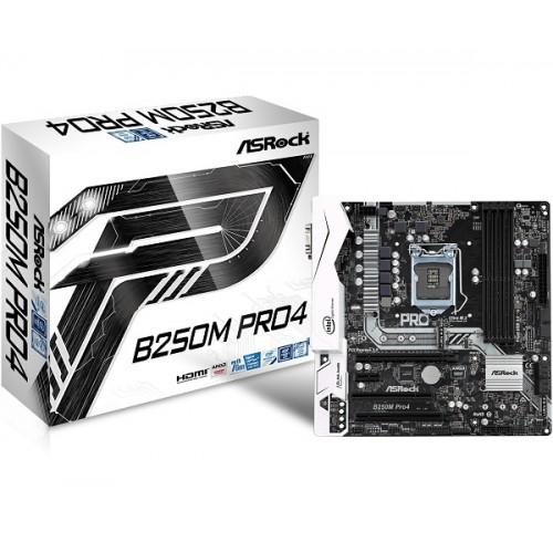 Asrock B250M Pro4 USB 3.1 DDR4 Motherboard