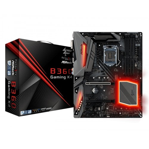 Asrock Fatal1ty B360 Gaming K4 8th Gen DDR4 Motherboard