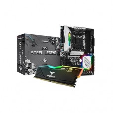 ASROCK B450 Steel Legend & TEAM DELTA RGB 8GB RAM Eid Bundle Offer 1