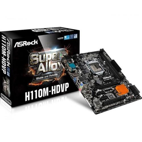 ASRock H110M-HDVP Socket 1151 Motherboard