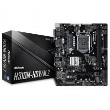 Asrock H310M-HDV/M.2 8th Gen DDR4 Motherboard