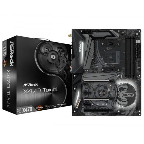 ASRock X470 Taichi ATX AM4 AMD Motherboard