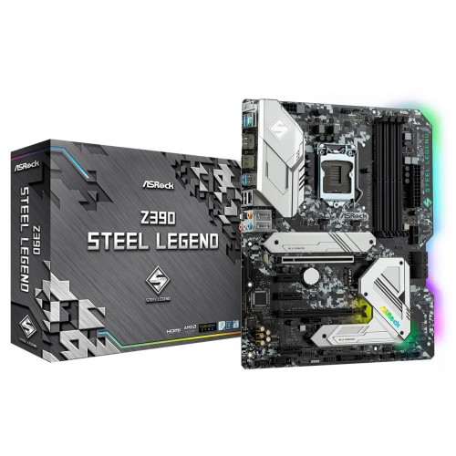 ASRock Z390 Steel Legend | Supports 9th and 8th Gen motherboard(16000)
