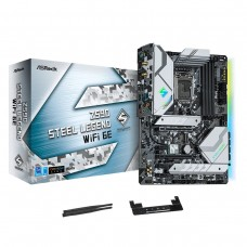 ASRock Z590 Steel Legend Wi-Fi 6E 10th and 11th Gen ATX Motherboard