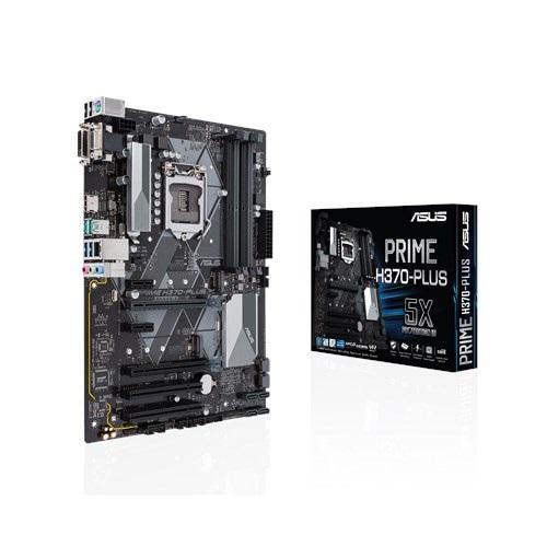 Asus PRIME H370-PLUS 8th Gen ATX Motherboard