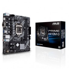 Asus Prime H410M-D Intel 10th Gen Micro-ATX Motherboard