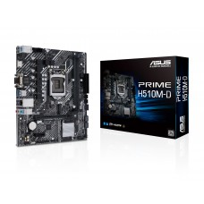 ASUS PRIME H510M-D Intel 10th and 11th Gen Micro ATX Motherboard