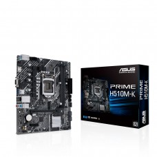 Asus Prime H510M-K Intel 10th and 11th Gen Micro-ATX Motherboard