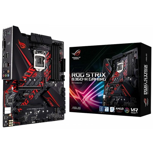 Asus ROG STRIX B360-H GAMING 8th Gen ATX Motherboard