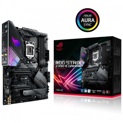 ASUS ROG STRIX Z390-E GAMING 9th Gen ATX Gaming Motherboard