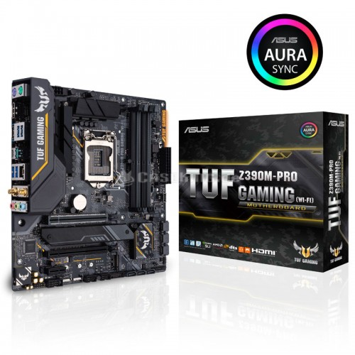 Asus TUF Z390M-Pro Gaming 9th Gen mATX Motherboard