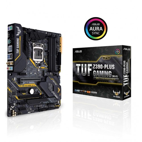AsusTUF Z390-PLUS GAMING (WI-FI) 9th Gen Motherboard