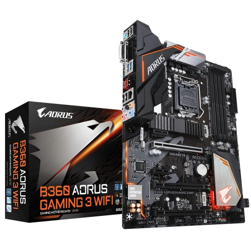 Gigabyte B360 Aorus Gaming 3 WiFi 8th Gen DDR4 Motherboard