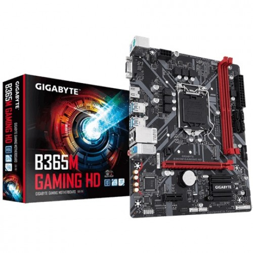 Gigabyte B365M Gaming HD 9th Gen Motherboard