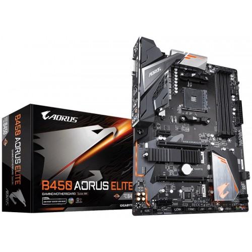 Gigabyte B450 AORUS ELITE AMD ATX Motherboard