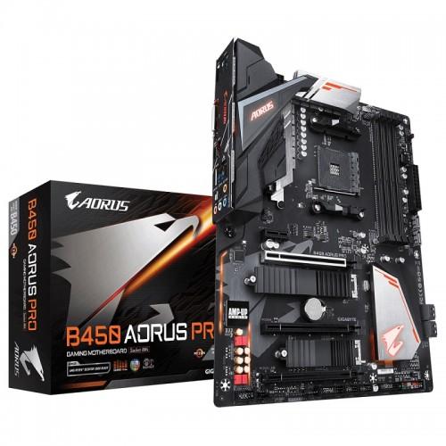 Gigabyte B450 AORUS PRO AM4 AMD ATX Motherboard