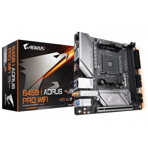 Gigabyte B450 I AORUS PRO WIFI AMD Mini-ITX Motherboard