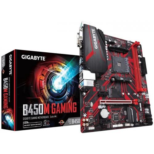 Gigabyte AMD B450M Gaming Motherboard