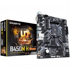 GIGABYTE B450M H Ultra Durable AMD AM4 Micro-ATX Motherboard