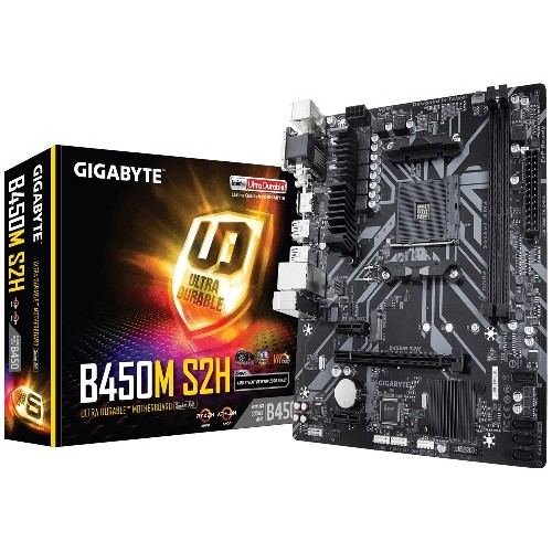 Gigabyte B450M S2H ULTRA Durable Motherboard