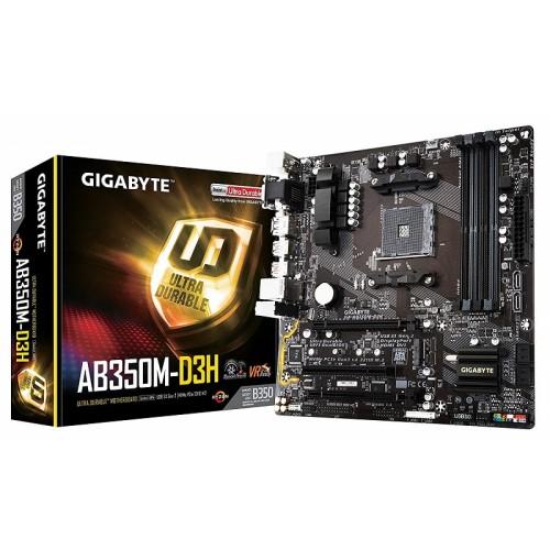 Gigabyte GA-AB350M-D3H AMD Micro ATX Motherboard