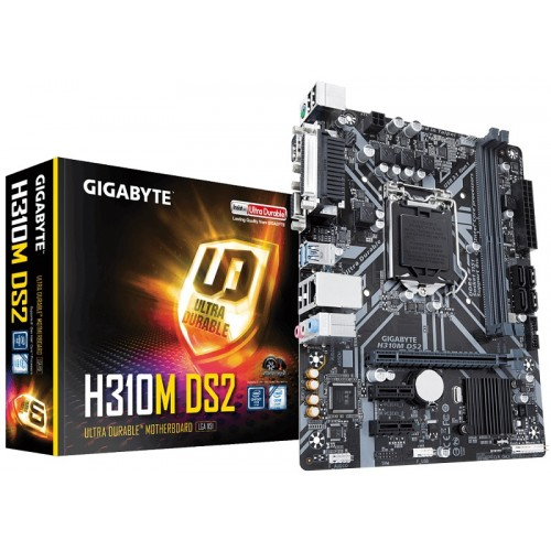 Gigabyte H310M DS2 8th Gen Micro ATX Motherboard