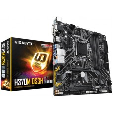 Gigabyte H370M DS3H 8th Gen Micro ATX Motherboard