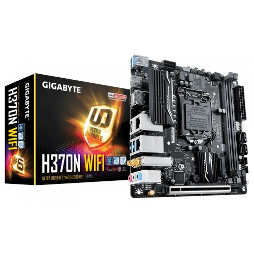 Gigabyte H370N WIFI 8th Gen Mini-ITX Motherboard