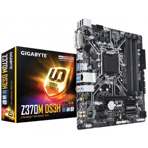 Gigabyte Z370M DS3H Ultra Durable 8th Gen DDR4 Motherboard