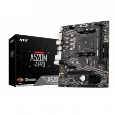 MSI A520M-A Pro AM4 AMD Micro-ATX Motherboard