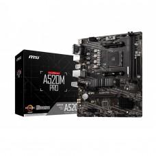 MSI A520M PRO AMD AM4 Micro-ATX Motherboard
