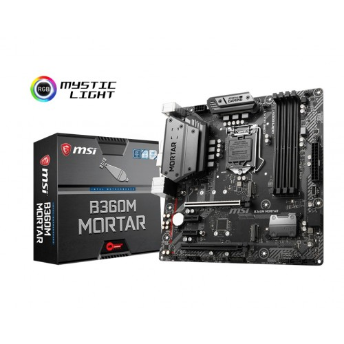 MSI B360M Mortar 8th Gen DDR4 Motherboard