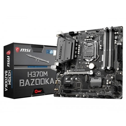 MSI H370m Bazooka 8th Gen DDR4 Motherboard