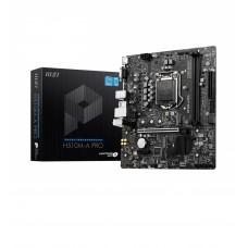 MSI H510M-A PRO Intel 10th Gen and 11th Gen Mirco-ATX Motherboard