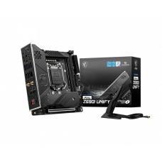 MSI MEG Z590I Unify Gaming 10th Gen and 11th Gen Mini-ITX Motherboard