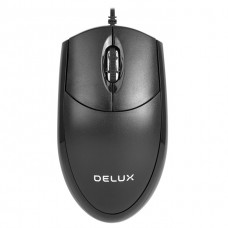 Delux M331BU Wired Optical Mouse