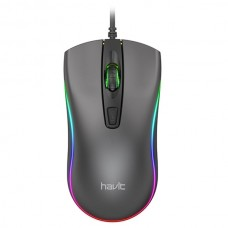 Havit MS72 Cool RGB LED USB Gaming Mouse Black