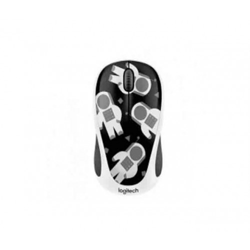 Logitech M338 Spaceman Gray Wireless Mouse