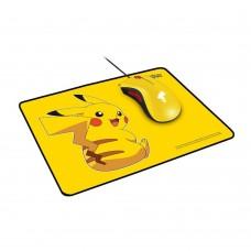 Razer DeathAdder Essential Mouse + Razer Goliathus Speed Pikachu Limited Edition Mat Bundle