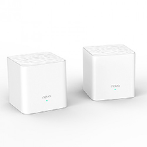 Tenda Nova MW3 (2Pack) 1200mbps AC1200 Dual Band Whole Home Mesh WiFi Router