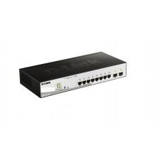 D-Link DGS-1210-10P 8 Port Gigabit Switch