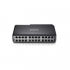 NETIS ST3124P Unmanaged 24 Port Fast Ethernet Plastic Switch